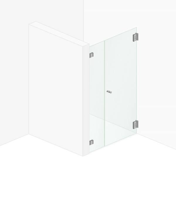 Ein Festteil Eine Tür